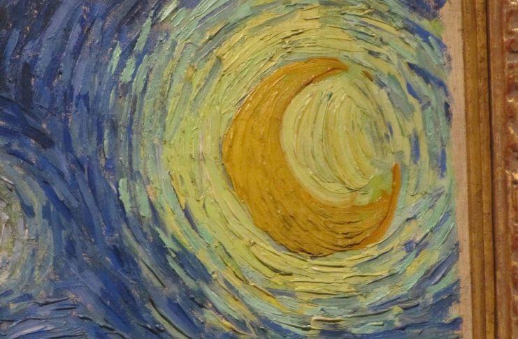 《星月夜》(The Starry Night)