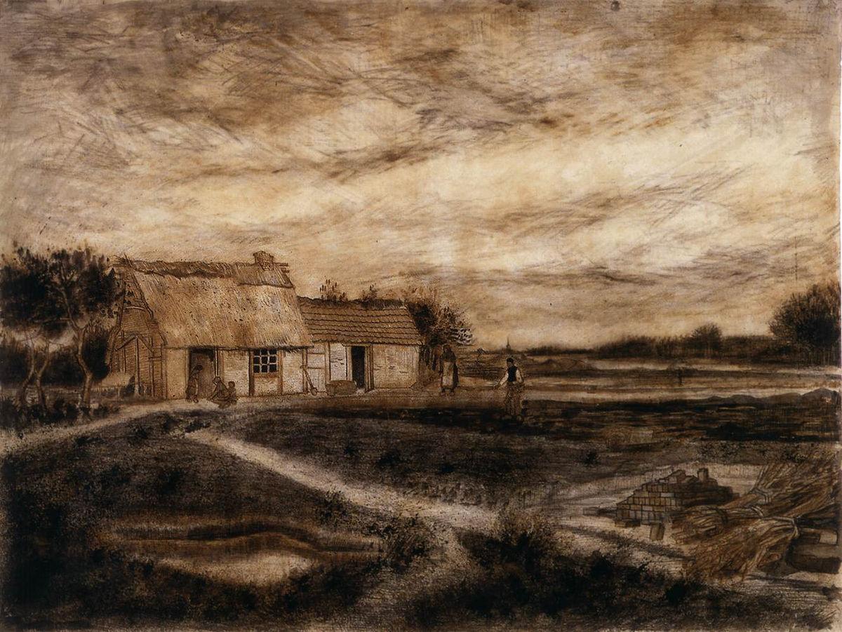"""荒野上的小屋和""""新教谷仓"""""""