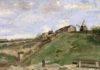 蒙马特采石场的小山