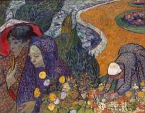 埃顿花园的回忆(也被称为阿尔勒的老妇人)_Memory of the Garden at Etten(also known as 'Old Women of Arles')-文森特·梵高