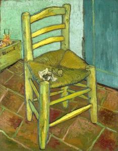 梵高的椅子_Van Gogh's Chair-文森特·梵高