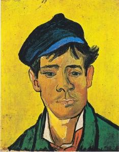 戴着帽子的年轻人_Young Man with a Cap-文森特·梵高
