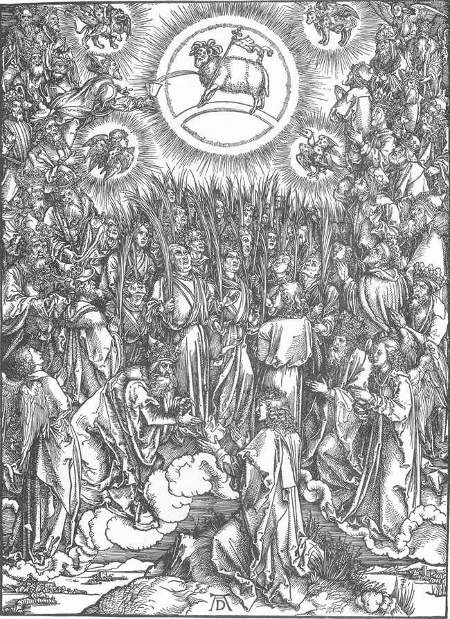 圣约翰启示录13.羔羊的敬拜和选民的赞美诗
