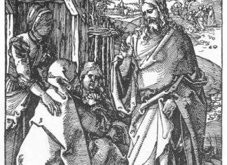 小受难:5.基督告别他的母亲
