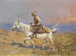 大草原上的骑马者