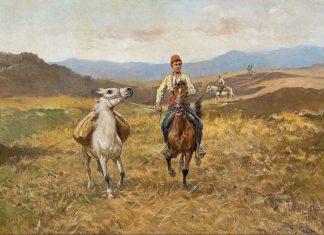 草原上的骑者