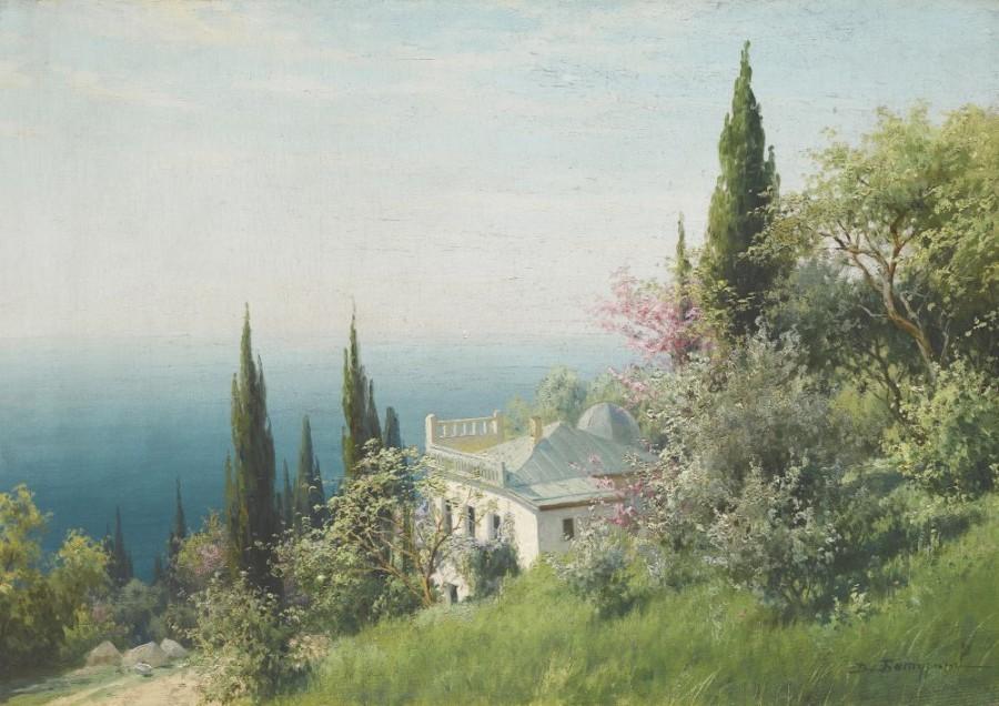 克里米亚景观_Crimean Landscape-维克多·巴图林
