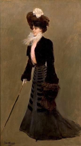 巴黎优雅女人_Elegant Woman in Paris-让·乔治斯·贝劳德