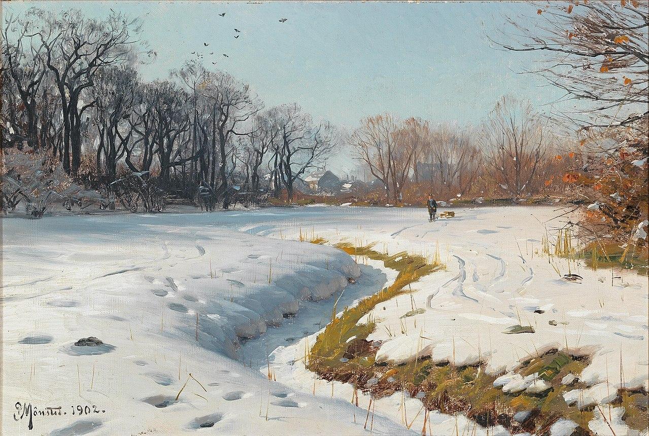 冬天_Winter-彼得·莫克·蒙森德