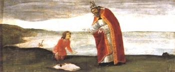 圣奥古斯丁的远见_Vision of St Augustine-桑德罗·波提切利
