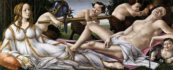 金星和火星_Venus and Mars-桑德罗·波提切利