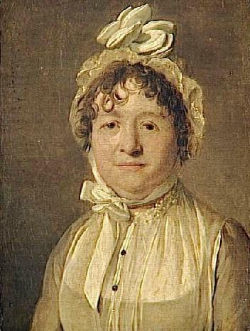 一个戴着帽子的女人的画像_Portrait of a Woman wearing a Bonnet-路易斯·莱奥波德·博伊