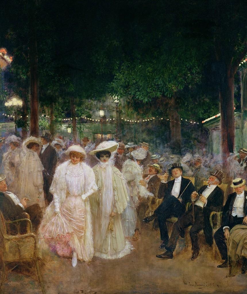 巴黎的花园(也被称为美丽的夜晚)_The Gardens of Paris(also known as The Beauties of the Night)-让·乔治斯·贝劳德