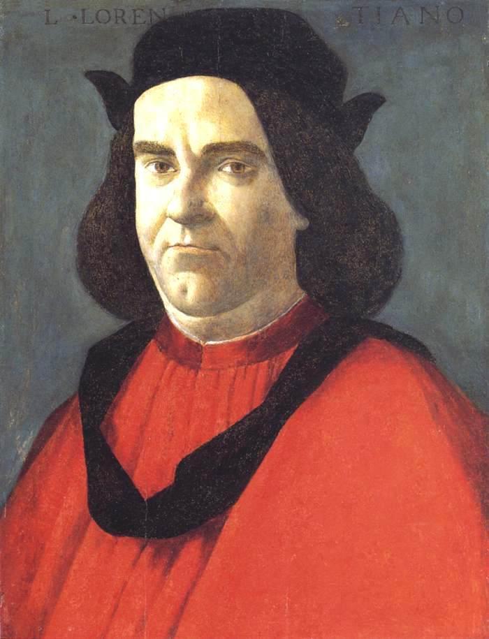 洛伦佐·迪·皮耶罗·洛伦佐的画像_Portrait of Lorenzo di Ser Piero Lorenzi-桑德罗·波提切利