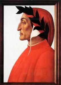 但丁的画像_Portrait of Dante-桑德罗·波提切利