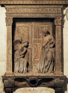 通告(细节)_Annunciation (detail)-多纳泰罗