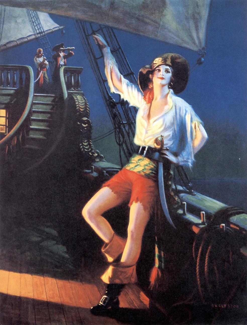 海盗女王_The Pirate Queen-爱德华·梅森·爱格斯顿