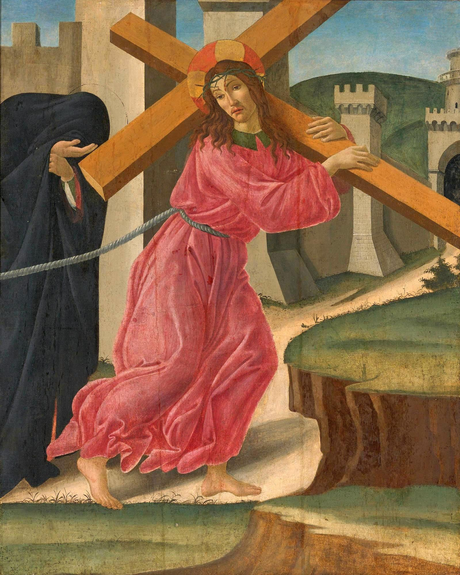 基督背负十字架_Christ Carrying the Cross-桑德罗·波提切利工作室