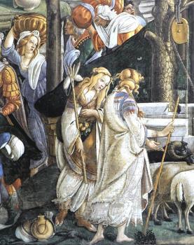 摩西的试炼和呼召(细节1)_The Trials and Calling of Moses (detail 1)-桑德罗·波提切利