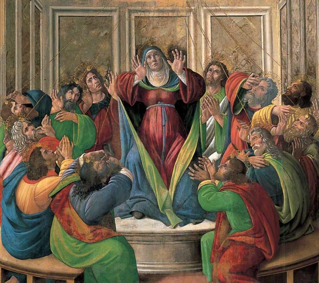 圣灵降临_The Descent of the Holy Ghost-桑德罗·波提切利