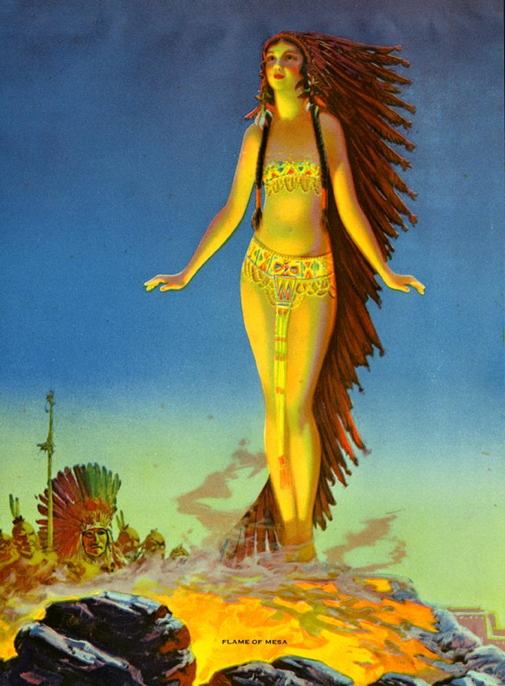 台面的火焰_Flame of Mesa-爱德华·梅森·爱格斯顿
