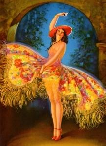 舞蹈家_The Dancer-爱德华·梅森·爱格斯顿