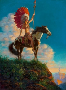 印度公主_Indian Princess-爱德华·梅森·爱格斯顿