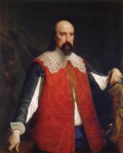 的画像Innominato_Portrait of Innominato-弗朗切斯科·保罗·海耶兹