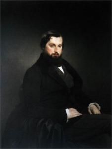 Gian Giacomo Poldi Pezzoli的肖像_Portrait of Gian Giacomo Poldi Pezzoli-弗朗切斯科·保罗·海耶兹