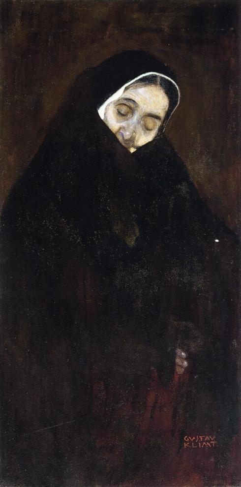 老女人_Old Woman-古斯塔夫·克里姆特