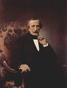 马西莫·德·阿齐格里奥的肖像_Portrait of Massimo d' Azeglio-弗朗切斯科·保罗·海耶兹