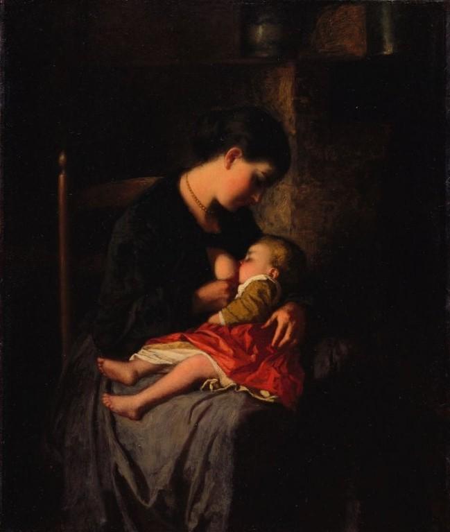母亲_The Mother-伊士曼·约翰逊