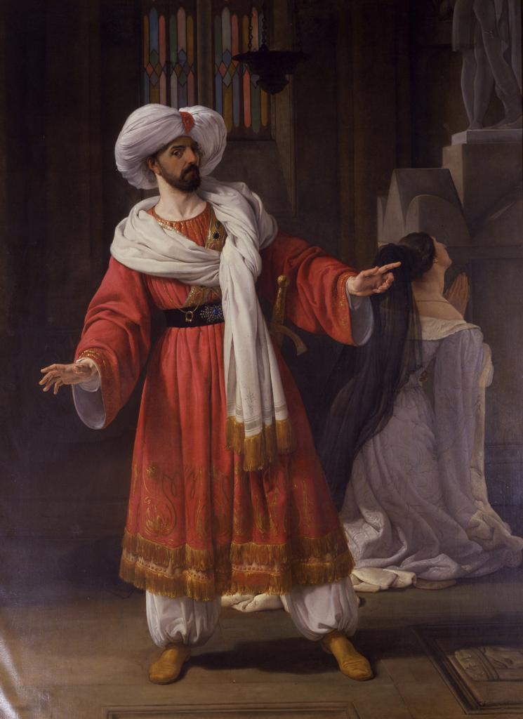 乔瓦尼·大卫·舒拉·斯图纳德_Giovanni David sulla scena de-弗朗切斯科·保罗·海耶兹