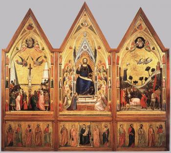 Stefaneschi三联画(recto)_The Stefaneschi Triptych (recto)-乔托