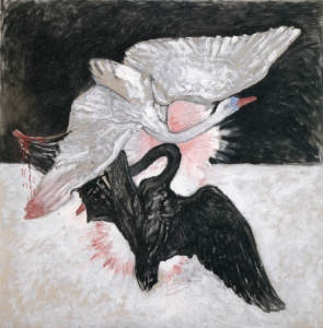 天鹅,No. 02, Group IX/SUW_The Swan, No. 02, Group IX/SUW-希尔玛·阿芙·克林特