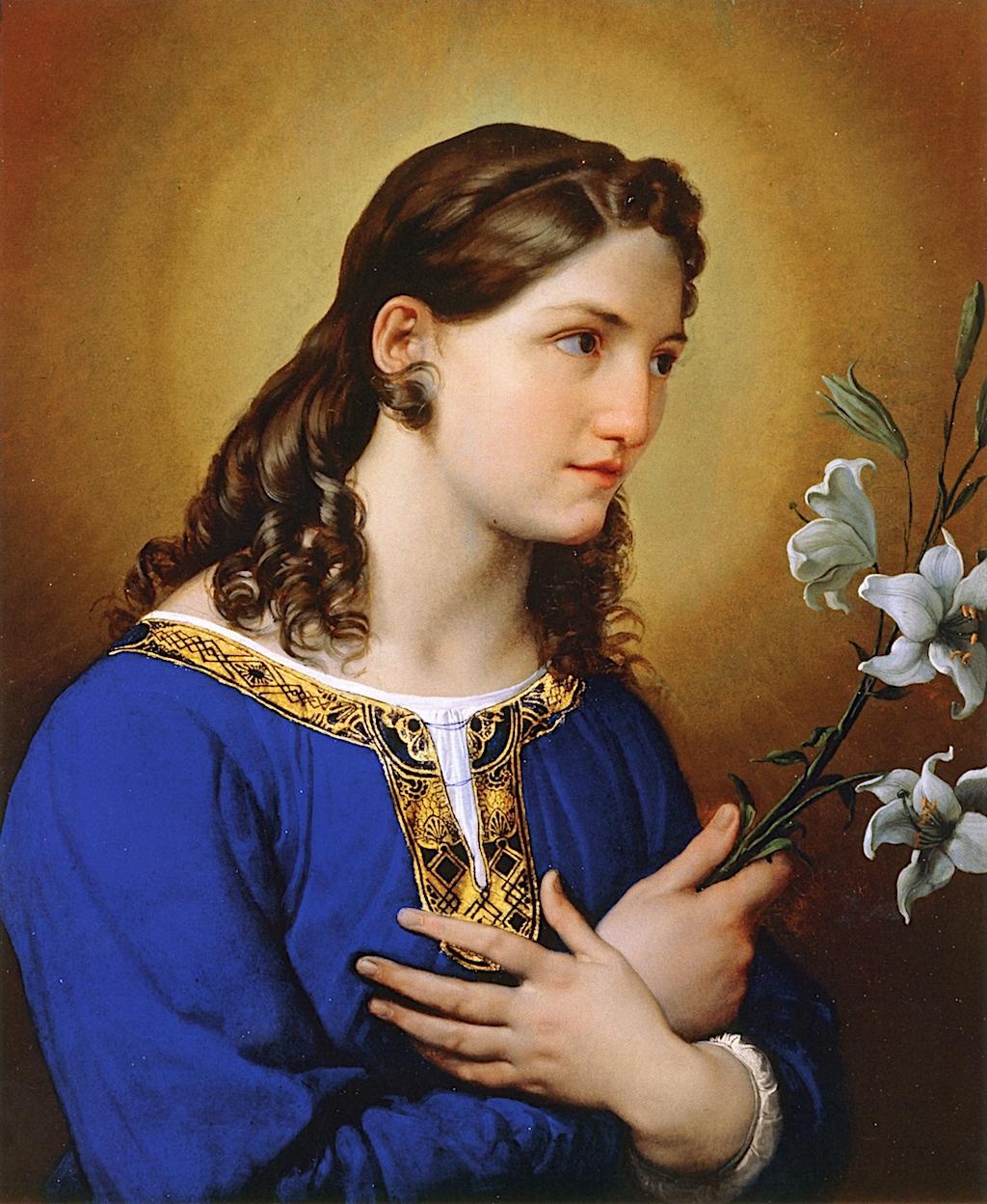 天使报喜_Angel of the Annunciation-弗朗切斯科·保罗·海耶兹