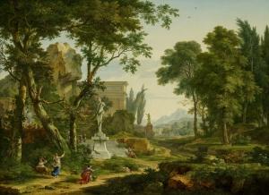 田园的风光_Arcadian Landscape-扬·范·休森