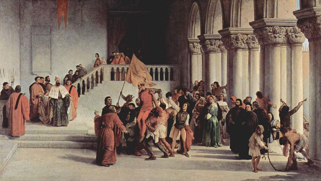 维托·皮萨尼的解放_Liberation of Vittor Pisani-弗朗切斯科·保罗·海耶兹