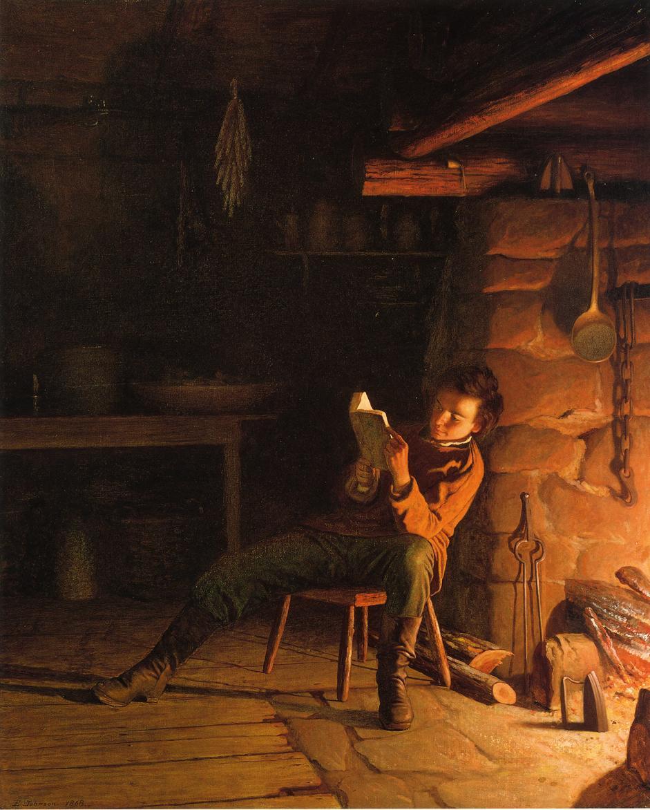 亚伯拉罕·林肯的童年-伊士曼·约翰逊