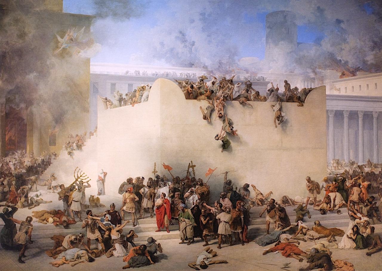 耶路撒冷圣殿的毁灭_Destruction of Temple of Jerusalem-弗朗切斯科·保罗·海耶兹