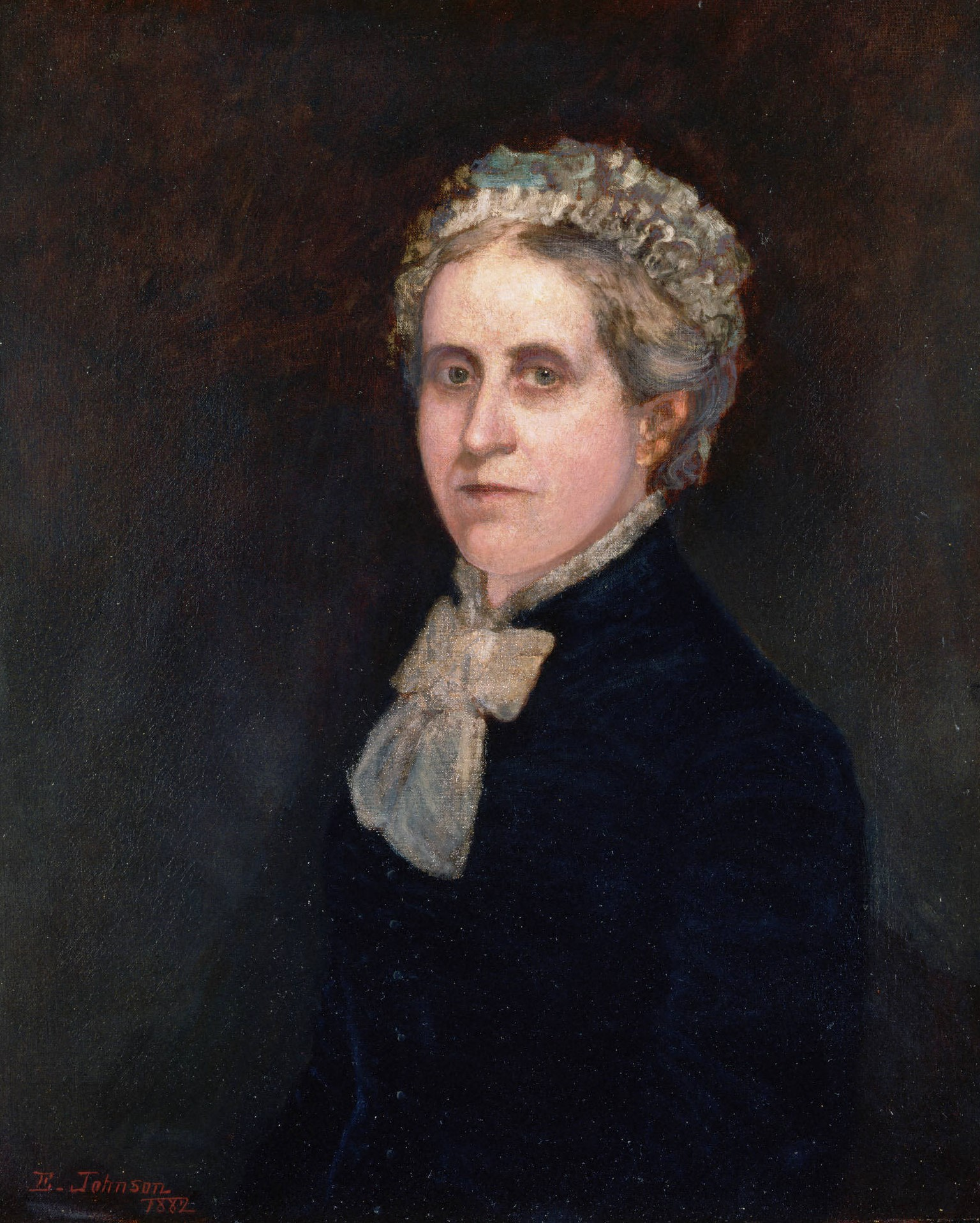 伊莎贝拉·格思里·麦可什(1817-1909)_Isabella Guthrie McCosh (1817-1909)-伊士曼·约翰逊