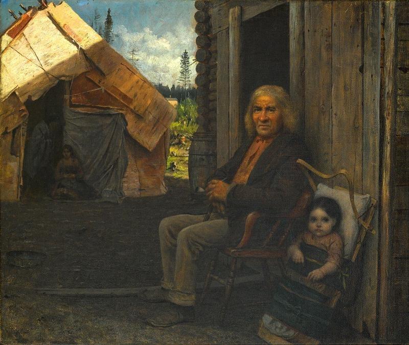 印第安家庭_Indian Family-伊士曼·约翰逊
