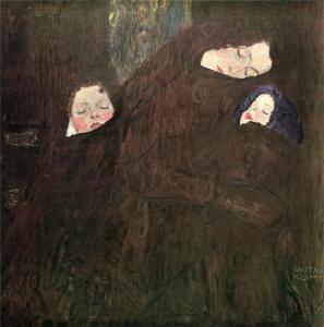 有孩子的母亲_Mother with Children-古斯塔夫·克里姆特