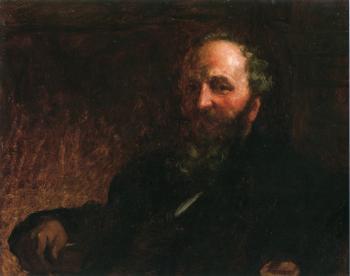 詹姆斯·g·威尔逊的肖像_Portrait of James G. Wilson-伊士曼·约翰逊
