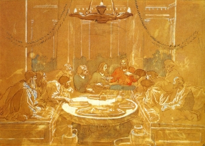 最后的晚餐_Last Supper-亚历山大·伊万诺夫