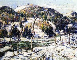 冬天的风景_Winter Landscape-欧内斯特·劳森