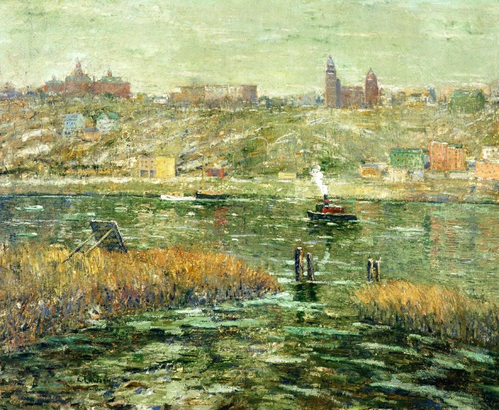 哈莱姆河_Harlem River-欧内斯特·劳森