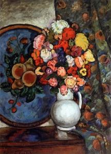 花瓶里的花_Flowers in a Vase-伊利亚·马什科夫