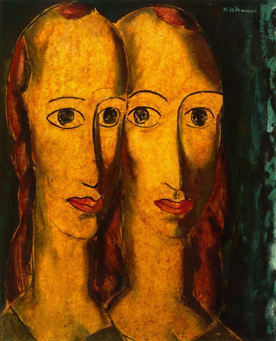 姐妹_Sisters-阿尔弗雷德·亨利·毛雷尔