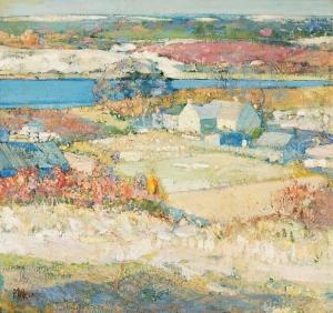 景观_Landscape-理查德·爱德华·米勒